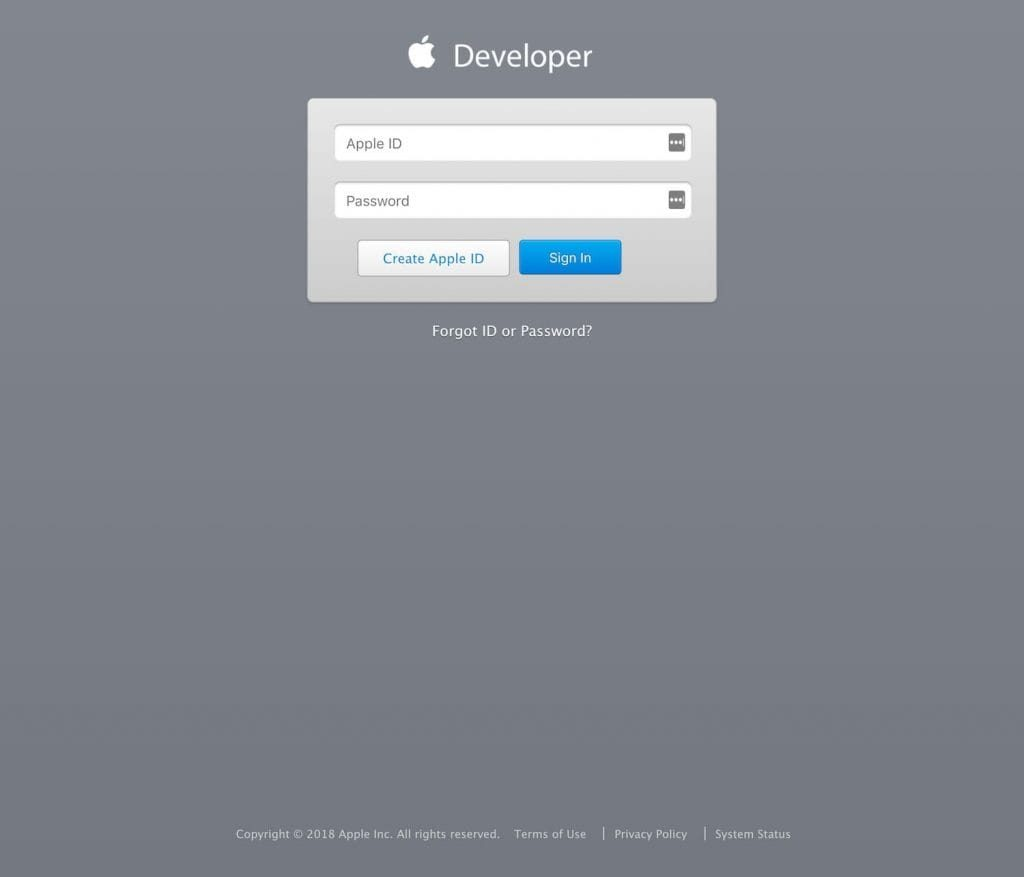 Create a developer account for the Apple Store - Step 3